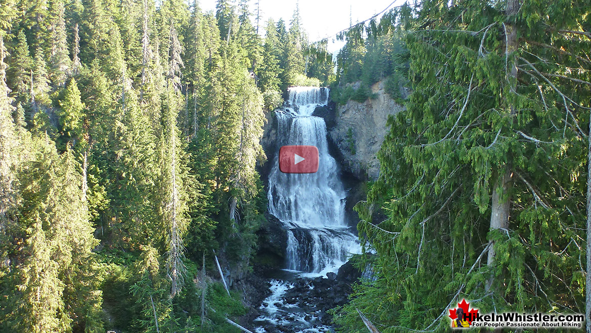 Alexander Falls Aerial Video - We Rent Gear Whistler