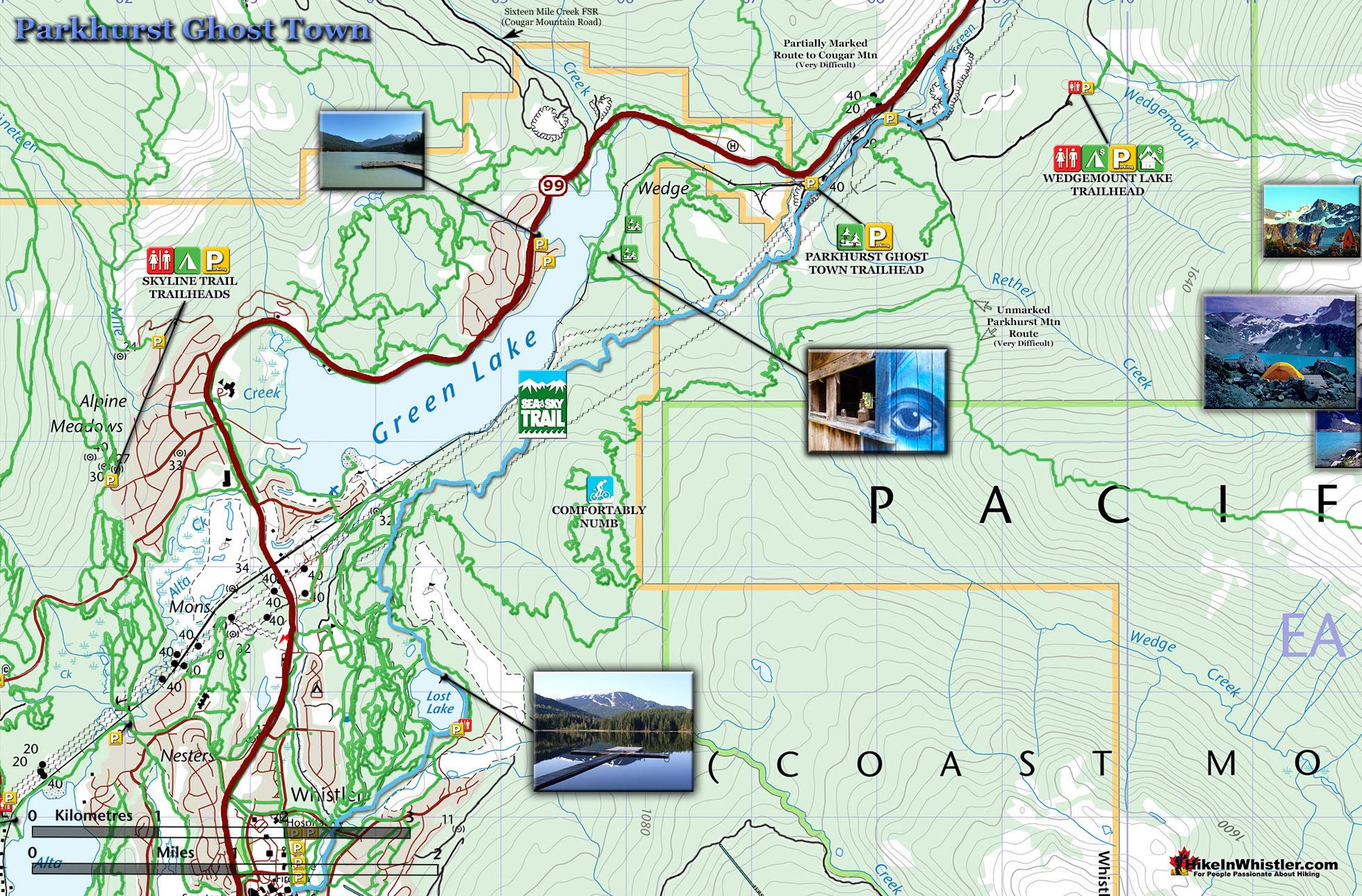 Parkhurst Map