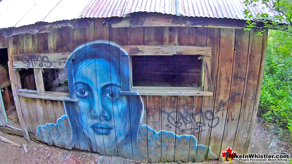 Parkhurst Ghost Town Blue Face Kups Painting
